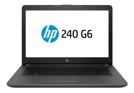 Notebook Hp 240 G6 I5 - 7200u 8gb 1tb Win10 Pro 14