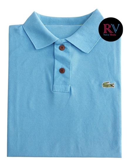 Camisetas Gola Polo Masculina Cores Variadas Promoção