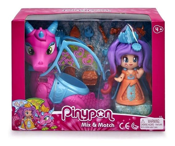 Pinypon Reina Y Dragon Figuras Int 15547 By Creciendo