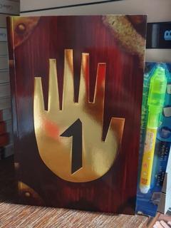 Diario 1 Gravity Falls + Lámpara Uv + Pluma +regalo Especial
