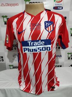 Camisa Atletico Madrid 2017-18 Despedida Torres 9 À P/ Ent