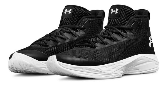 Tênis Under Armour Jet Mid Brooklyn Nets Black, Imediato