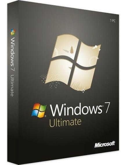 7 Ultimate Chave Original Microsoft Ativaçao Garantida