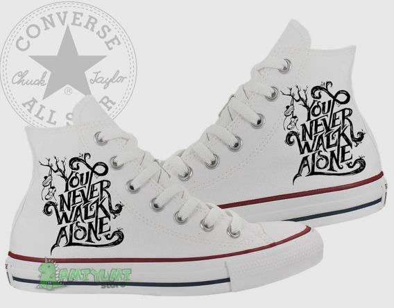 Tênis You Never Walk Alone All Star Converse Feminino