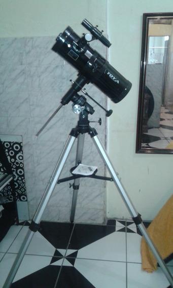 Telescópio Toya 114mm Refletor Equatorial Rf114hrteq3-5