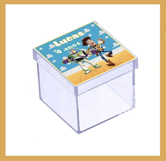 50 Caixinha Toy Story Lembrancinha De Aniversário #