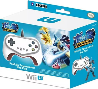 Pokken Tournament Pro Pad Hori Nintendo Wii U Nuevo Vdgmrs