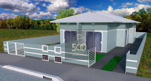 Imagem 1 de 3 de Casa Geminada Com 2 Dormitórios - Forquilhas - São José - Ca0777