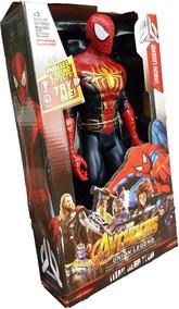 Homem Aranha Totalmente Articulado Musical 32cm Grande Heroe