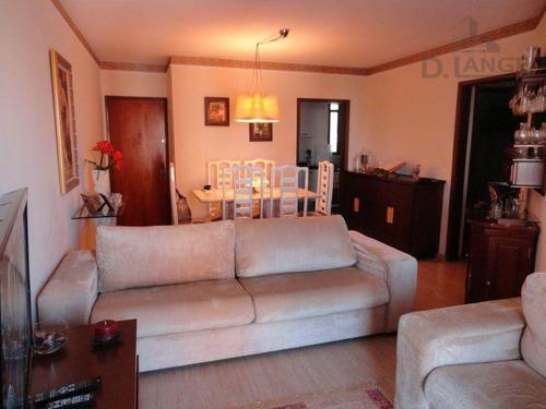 Imagem 1 de 16 de Apartamento Com 3 Dormitórios À Venda, 101 M² Por R$ 430.000,00 - Centro - Campinas/sp - Ap11822