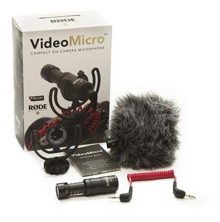 Rode Video Micro Microfono Para Camara Filmadora