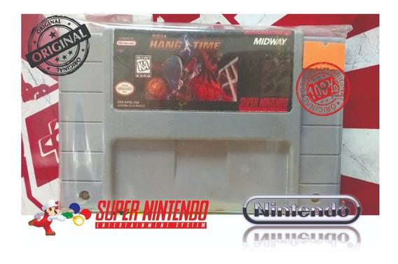 Nba Hang Time Original Snes Super Nintendo