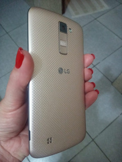 Smartphone Lg K10 K430 16gb Dual Chip 4g Original Semi Novo
