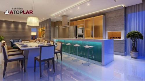 Apartamento Com 3 Suítes À Venda, 200 M² Por R$ 2.155.000 - Pioneiros - Balneário Camboriú/sc - Ap0885