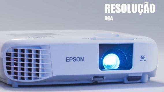 Projetor Epson Powerlite X39 - 3.500 Lumens, Wireless
