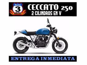 Moto Zanella Ceccato 250 V Bicilindrica Motor Inyeccion