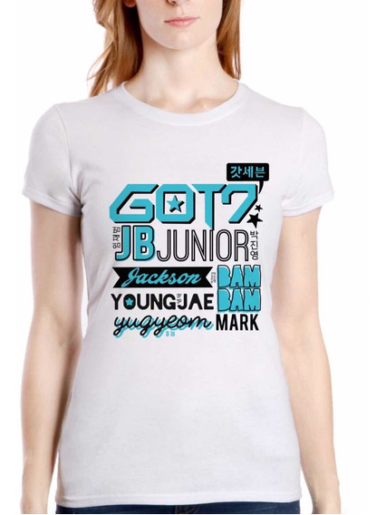 Playera Got7 Kpop