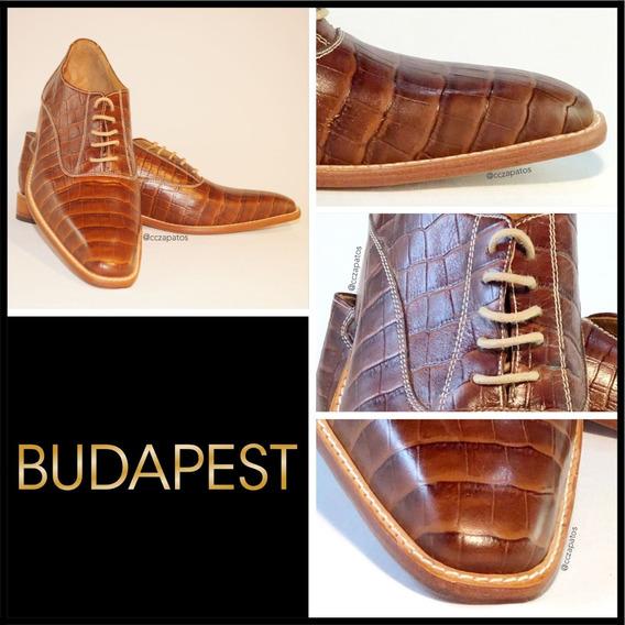 Zapato Cuero Hombre - Modelo Budapest - Diseños Exclusivos