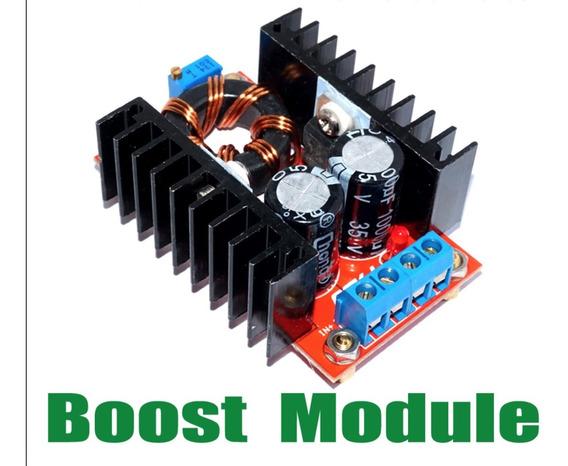 Kit 10x Elevadores De Tensão Oskj Dc-dc 150 W Ajustável