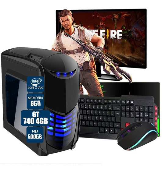 Pc Gamer Completo Aires Gt 740 4gb 8gb Hd 500gb Wi-fi