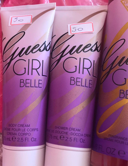 Kit Guess La Girl Belle Perfume, Body Cream And Wash