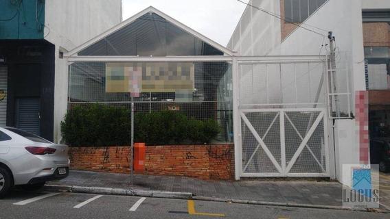 Galpão Para Alugar No Centro Nobre De São Bernardo, 300 M² Por R$ 7.900/mês - Centro - São Bernardo Do Campo/sp - Ga0013