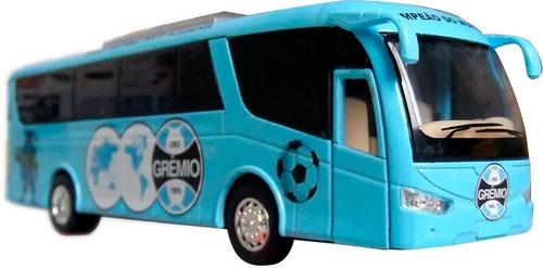 Miniatura Ônibus Time De Futebol Em Metal 18cm Personalizado