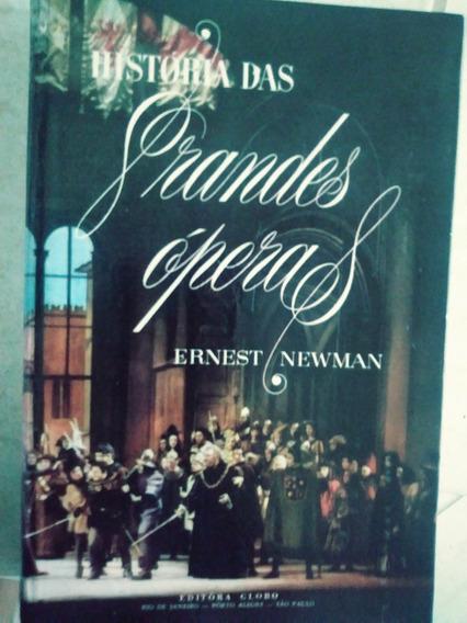 Preço De 4 Livros História Grandes Operas - Musica Clássica