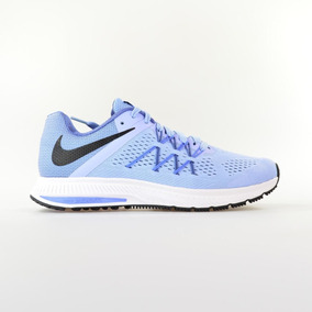 eb620645e97 Tenis Nike Zoom Winflo 3 Running Feminino Azul