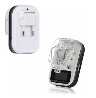 Carregador Universal Para Baterias De Celular E Câmeras Lcd