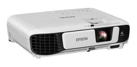 Projetor Epson Powerlite S41+, Branco,3300 Lúmens, Wi-fi