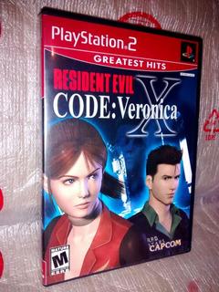 Resident Evil Code Verónica , Original Usa Ps2 (ntsc U/c) !!