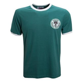 Camisa Retrô Nigeria Verde 1980
