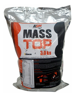Hipercalorico Aisim Mass Top 3kg Todos Os Sabores Desejados