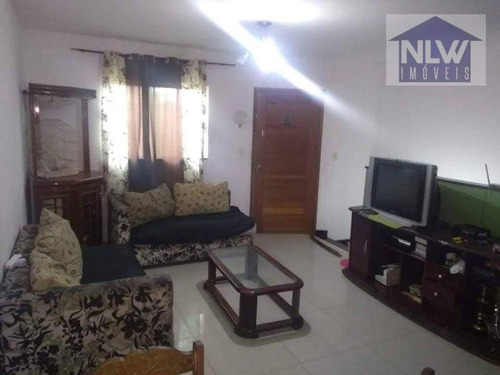 Imagem 1 de 5 de Sobrado Com 3 Dormitórios À Venda Por R$ 700.000,00 - Vila Nova Manchester - São Paulo/sp - So0083