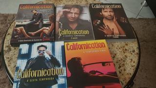 Dvd Californication (a Serie Completa E Original)