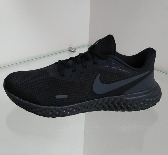 Tenis Feminino E Masculino Nike Revolution 5 Preto