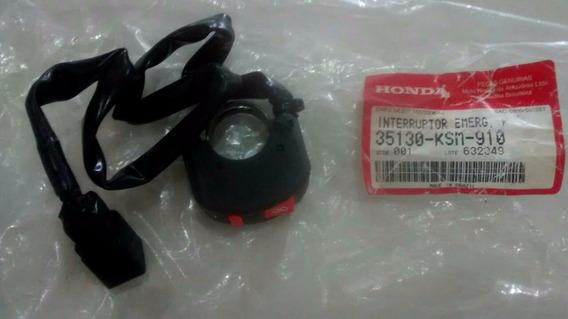 Interruptor De Emergência Nxr125/ 150-original Honda-03/05