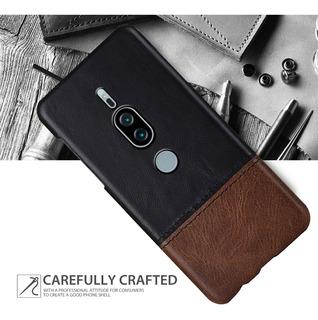Case Cover Cuero Sintetico Sony Xperia Xz3