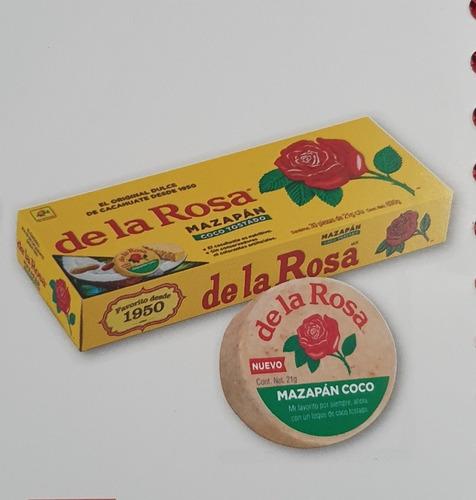 Imagen 1 de 2 de Mazapan Con Coco De La Rosa Laposse Ferrero Duvalin Vero