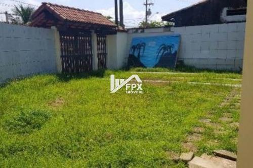 Imagem 1 de 13 de Casa Com Suíte E Churrasqueira Em Itanhaém - Ca026