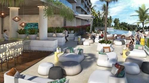 Departamento En Venta Con Vista Al Mar, Ubicado En Lujosa Zona De Cancún, Mod. N-2i Allure