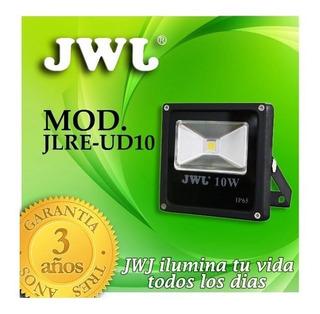 Reflector Led Cob De 10w Ip65 Jwj Luz Blanca O Calida