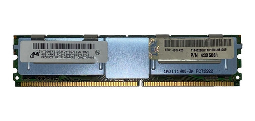 Imagem 1 de 9 de Memoria 4gb Pc2-5300f Ibm System X3400 7973 7974 7975 7976