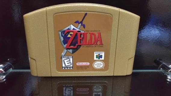 Fita Zelda Ocarina Of Time Nintendo 64 N64 Salvando