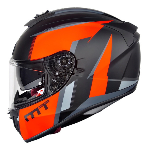 Capacete Mt Helmets Blade 2 Operator Fosco Bi Composto Moto
