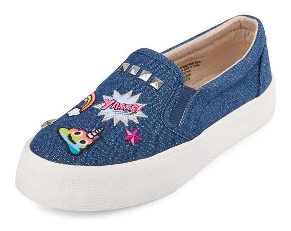 Zapatos De Niña Emojis Childrens Place 20 Mex - 1 Usa