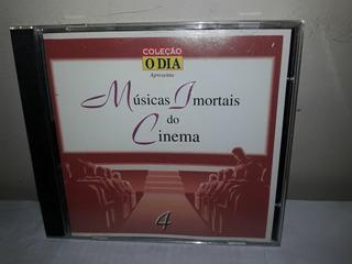 Cd Músicas Imortais De Cinema Vol.4 O Dia Semi Novo
