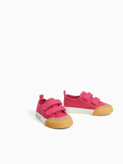 Zapatillas Zara Lona Niñas