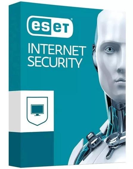 Antivirus Eset Internet Security 1 Pc 3 Anos Windows / Mac